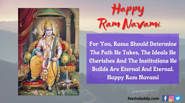 2021 Ram Navami Wishes Quotes Messages Images